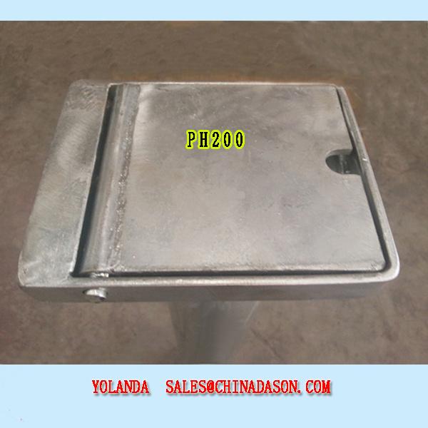 Ss Retractable Bollard pH200-Ss