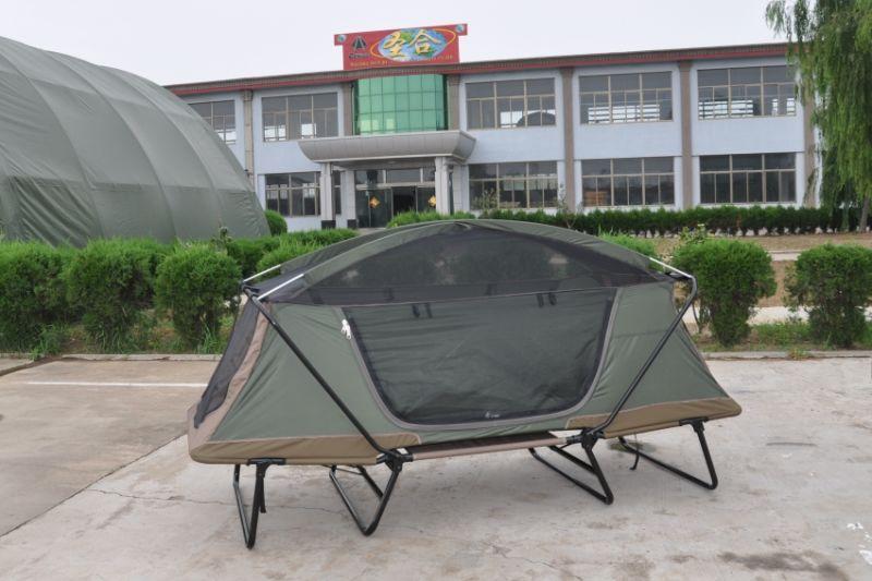 lit de camp de luxe de tente campante lit de camp de luxe de tente campante fournis par qingdao. Black Bedroom Furniture Sets. Home Design Ideas