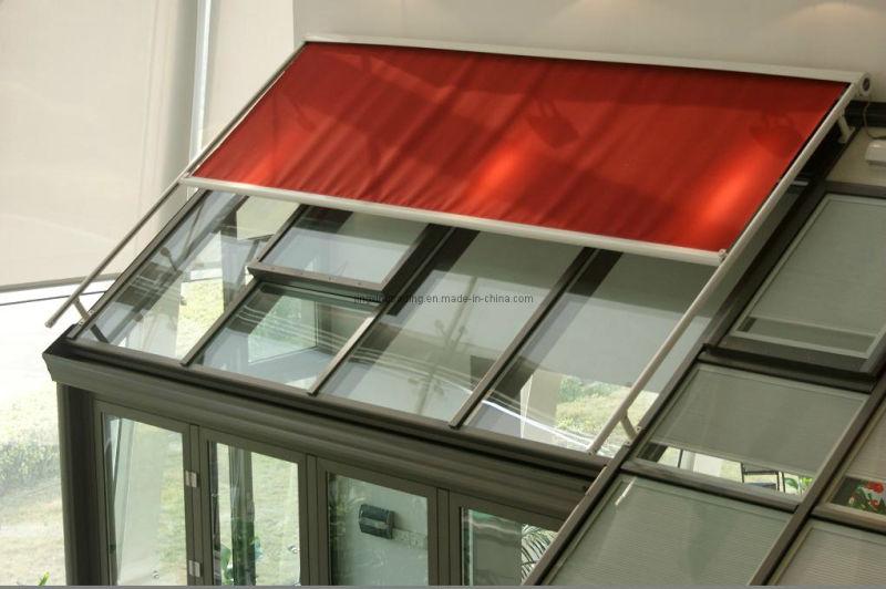 Inteligente tragaluz techo toldo parasol canopy para patio for Modelos toldos para patios