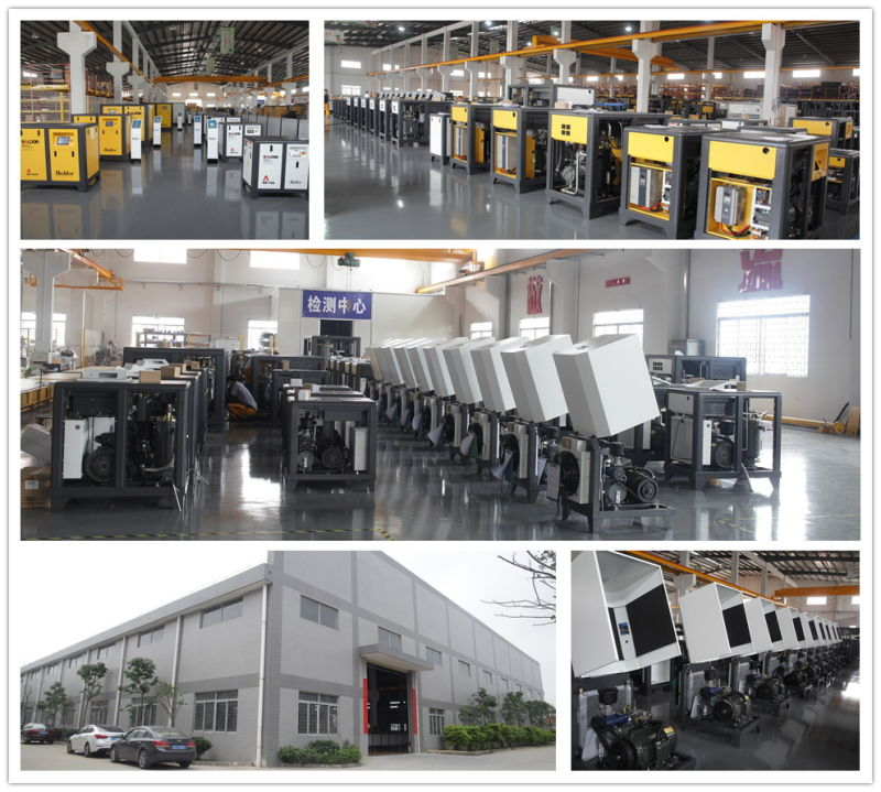 (10HP~350HP) China Variable Speed Rotary Direct Driven Screw Air Compressors with Competitive Price