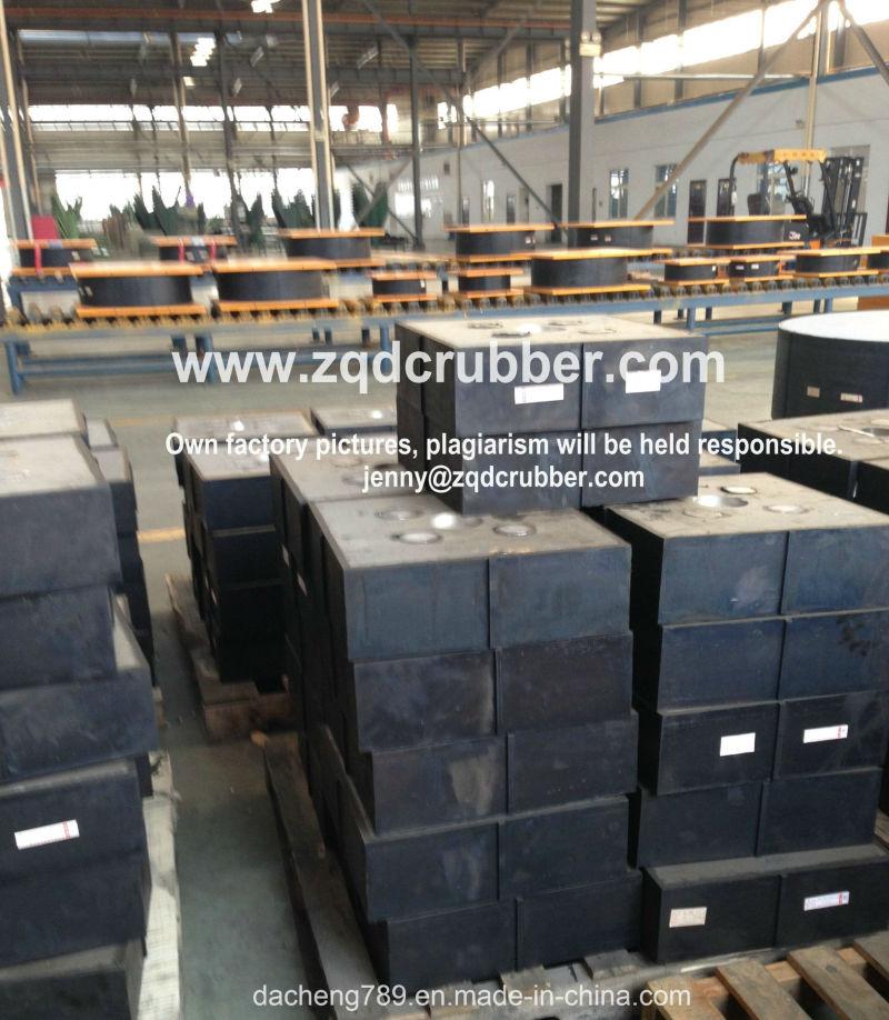 China Bridge Construction High Damping Rubber Bearings