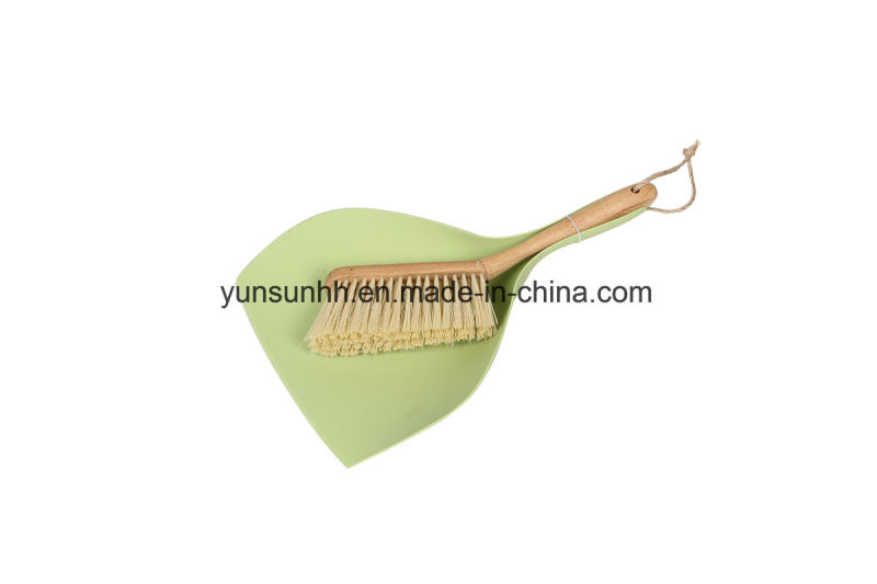 Table Dustpan U0026Sweeping Bamboo Brush Set