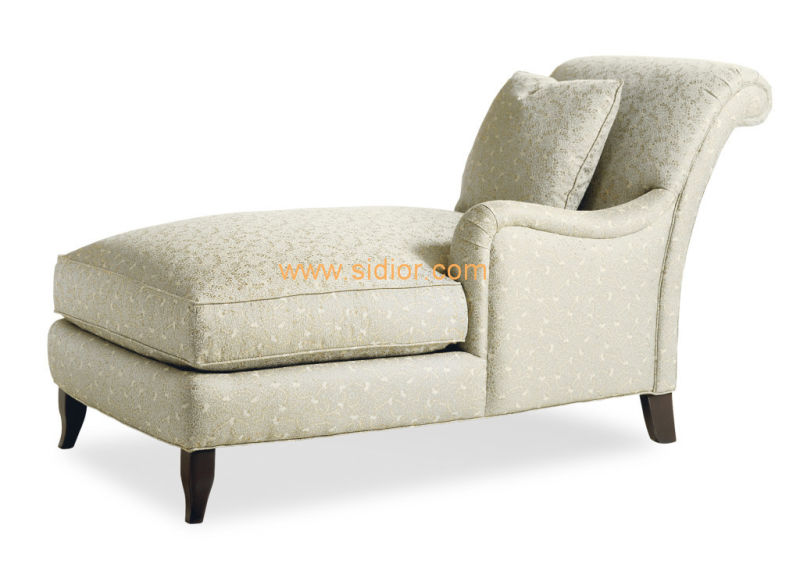 (CL-6626L) Classic Villa Hotel Room Furniture Fabric Leisure Sleeping Lounge