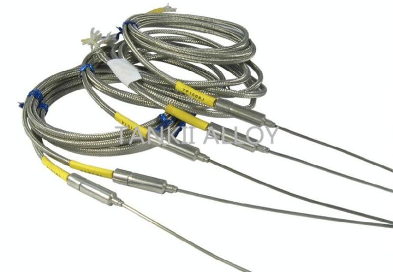E Type Thermocouple Cable : China teflon fiber glass pvc pfa insulated