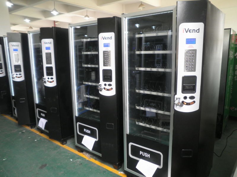 glass front vending machine