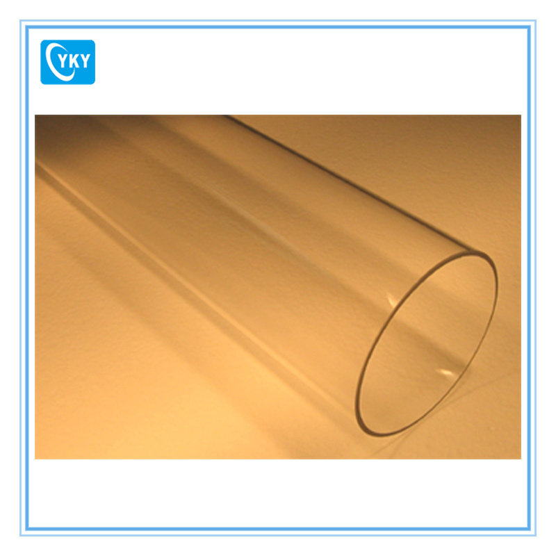 High Purity Quartz Tube for Tube Furnace and Induction Heater