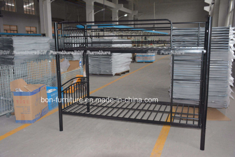 China metal bunk bed cheap twin sleeper bed china bunk for Cheap metal bunk beds