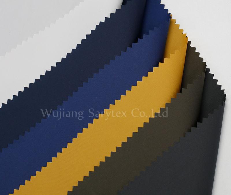 C948 98% Polyester 2%PU50/72X50/72 DTY Semi Dull 183X165 85gr/Sm Pd Wr/C8 Light PU Coating.