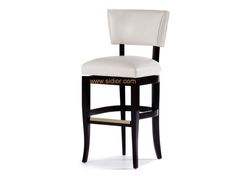(CL-4406) Classic Hotel Restaurant Club Furniture Wooden High Barstool Chair