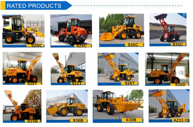 Zl50 Chinese 5ton Front End Wheel Loader 650 for Sale
