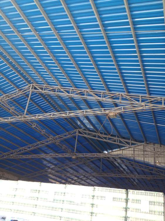 china welcomed in africa uv resistant hollow structure pvc r