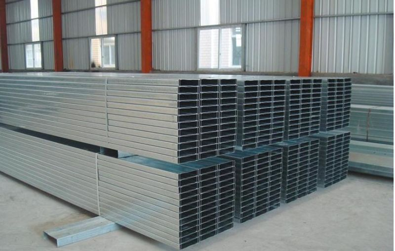 Galvanized C/Z Roofing Purlins for Steel Construction