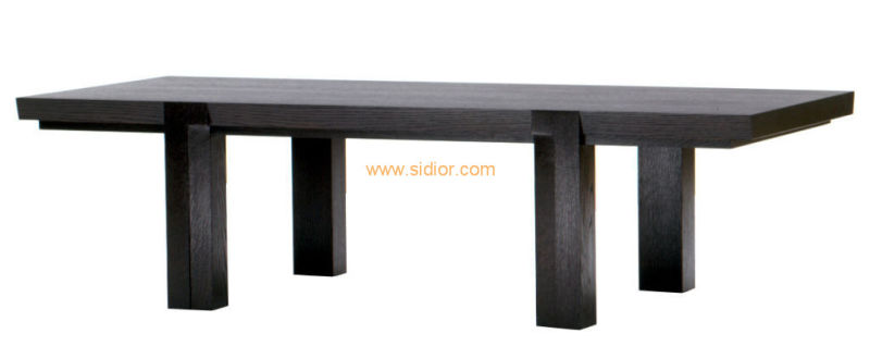 (CL-3306) Antique Hotel Restaurant Dining Furniture Wooden Dining Table