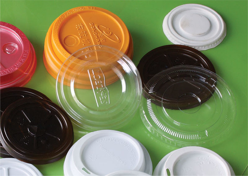 Plastic Lid for Drink Cup Bowl Hydraulic Forming Machine