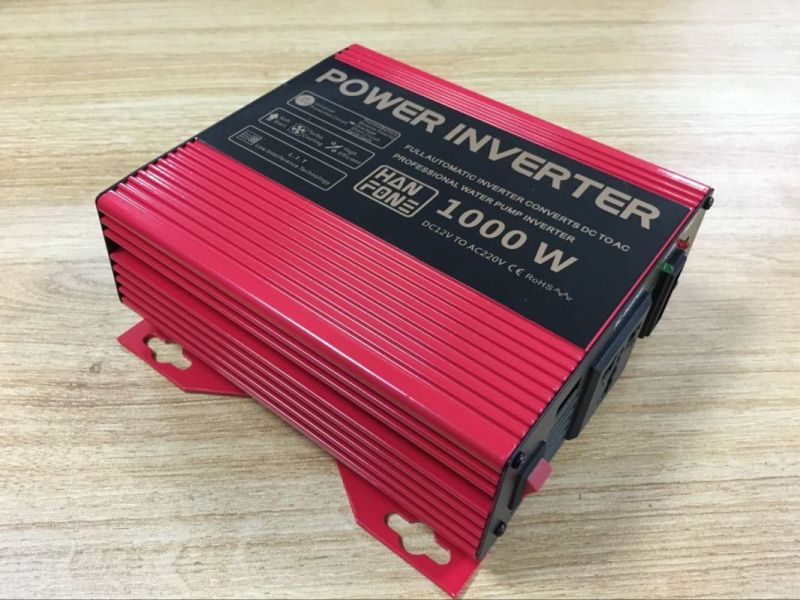 1000W 12V 220V Intelligent DC AC Power Inverter for Sale (TP1000)