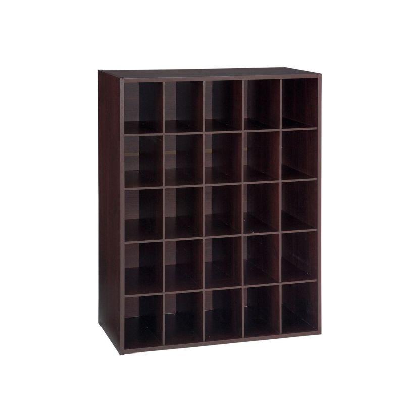 Cubo de la cabina de almacenaje del organizador del zapato for Mueble organizador de 9 cubos