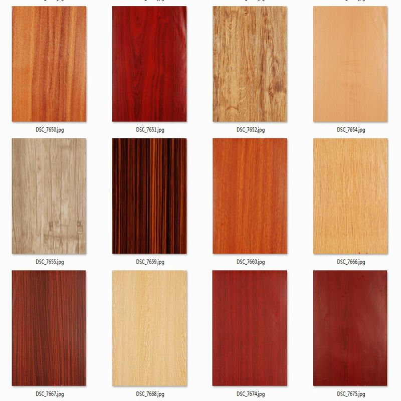 China Wood Grain Pvc Film For Mdf China Pvc Film For Mdf