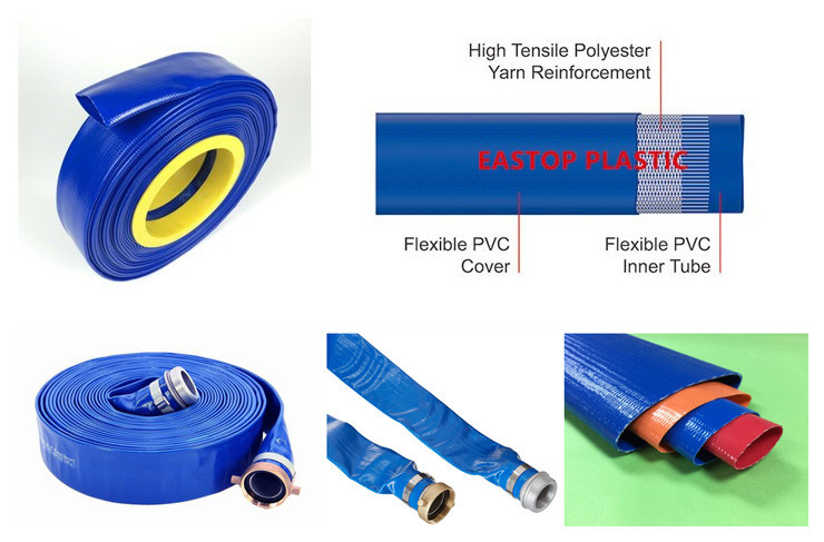 2'' Inch Size Layflat Water Hose Pipe Tube