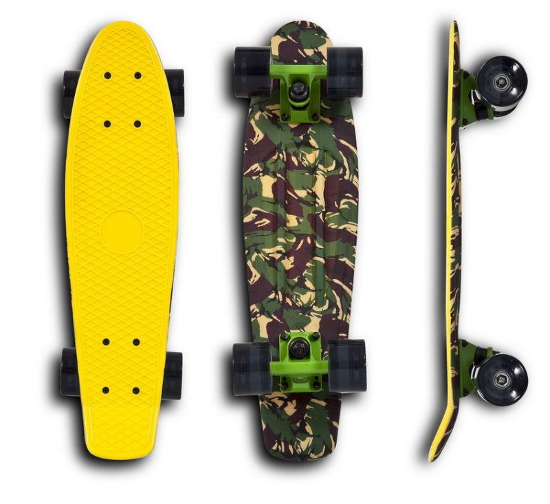 China Penny Skateboard Vinyl Cruiser Skateboard Vs Skb 10