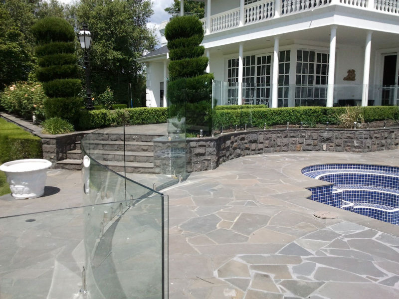Widely Used for Pool Fence Balcony, Glass Balustrade, Glass Railing