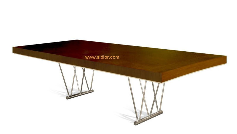 (SD-3001) Modern Hotel Restaurant Dining Furniture Wooden Dining Table