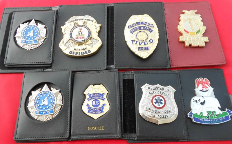 удостоверение полиции сша образец