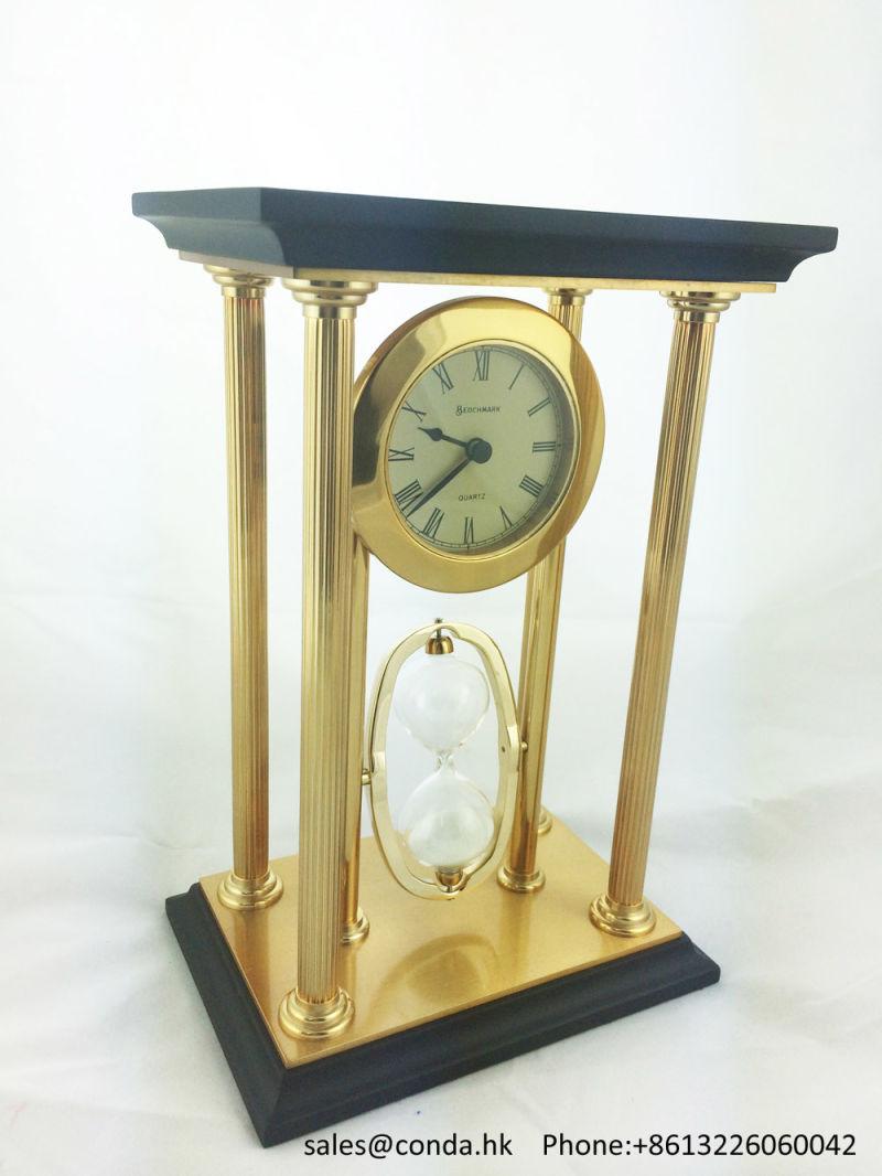 China Luxury Desk Clock Skeleton Clock Kit for Business ...