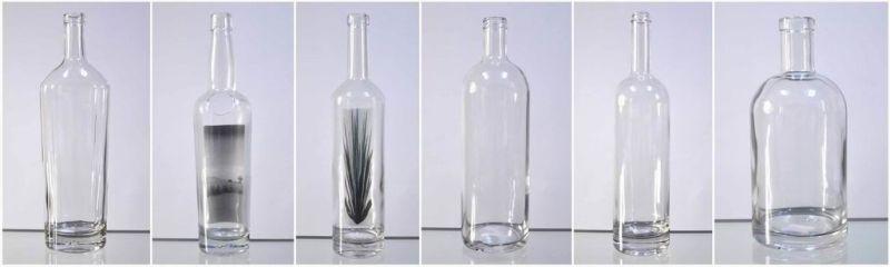 1000ml High Clear Glass Liquor Bottle (2620)