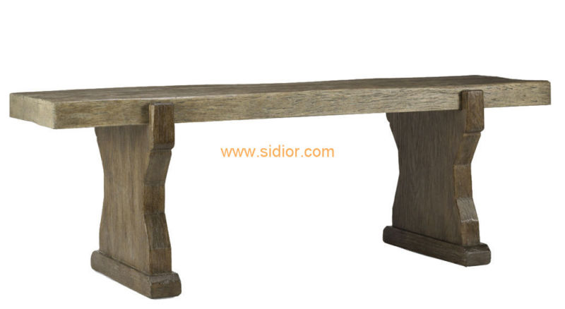 (CL-3307) Antique Hotel Restaurant Dining Furniture Wooden Dining Table