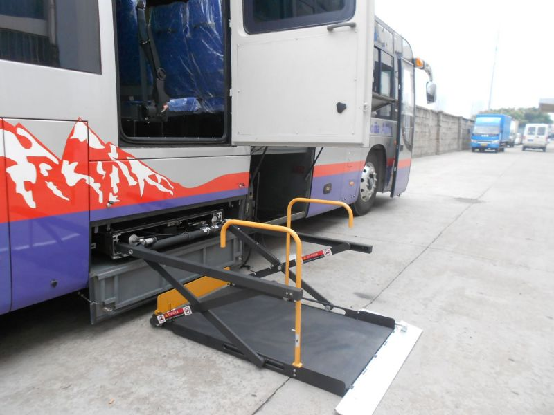 Electric Hydraulic Wheelchair Lift : China ce scissor wheelchair lifter for bus hydraulic