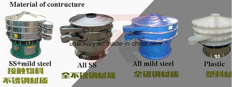 SUS304 Vibrating Circular Sieve/ Powder Sieving Machine