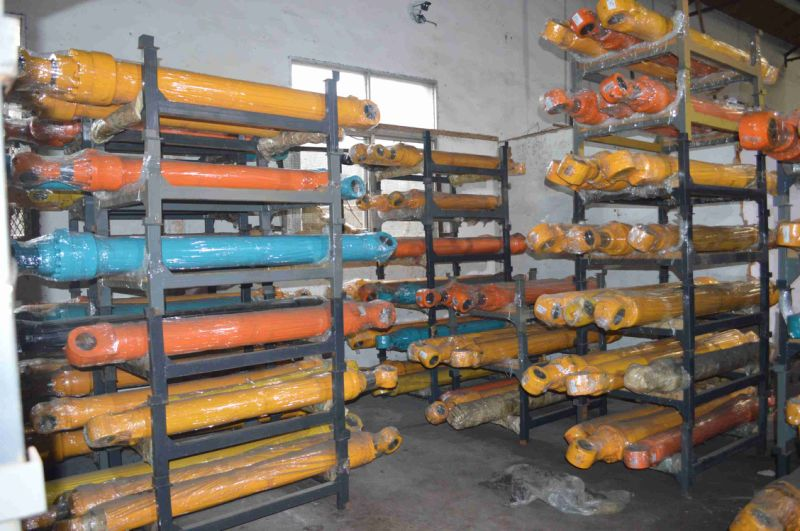 China Hydraulic Cylinders Parts For Brands Of Excavators