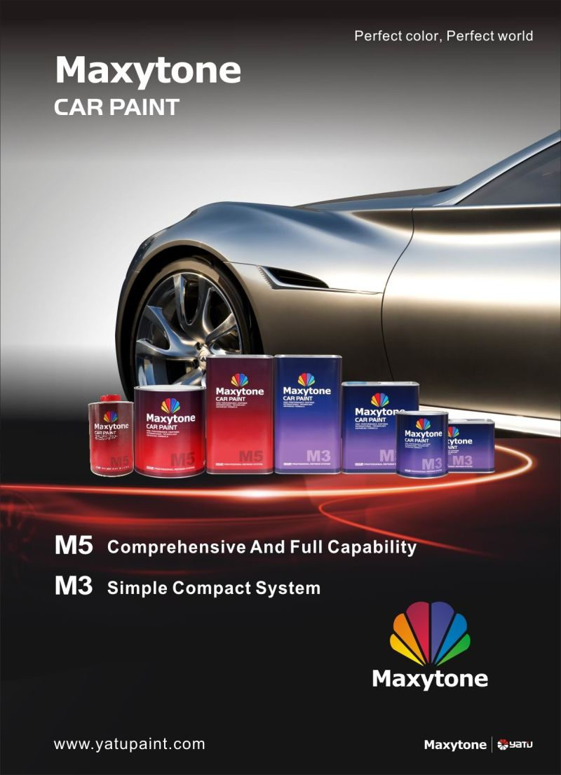 China Auto Paint, Car Paint: 2k Topcoat Solid Colors - China Auto ...