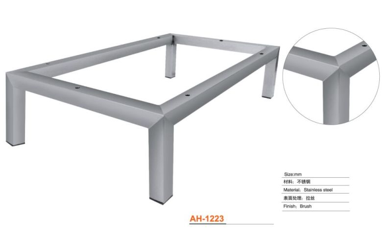 China Stainless Steel Sofa amp Table Frame with Brush Finish  : Stainless Steel Sofa Table Frame with Brush Finish from dongjiali.en.made-in-china.com size 800 x 478 jpeg 19kB