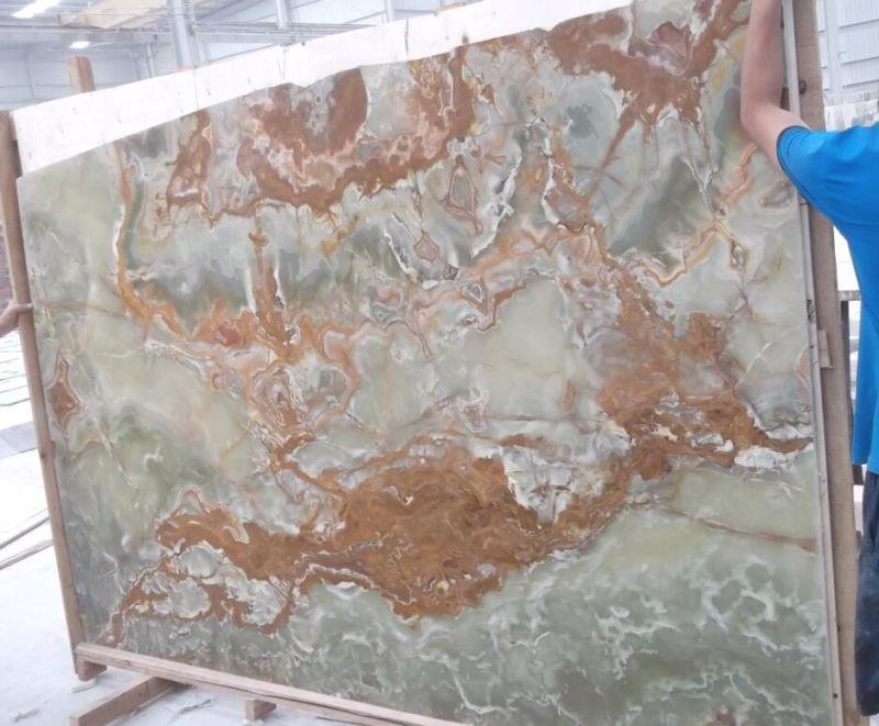 De groene gootstenen van het onyx marmeren gootsteen de gootstenen van de steen de groene - Rechthoekige gootsteen ...