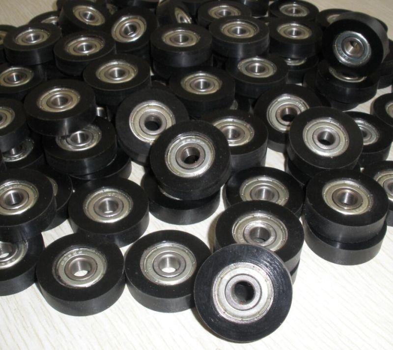 China 6001zz Bearing Lining With Polyurethane Rubber