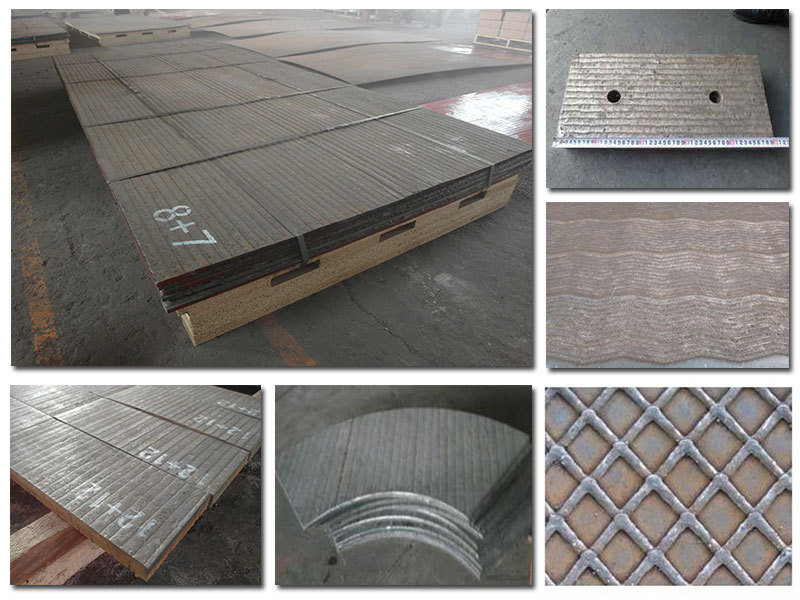 Direct Factory Produce Bimetallic Composite Chrome Carbide Overlay Plate