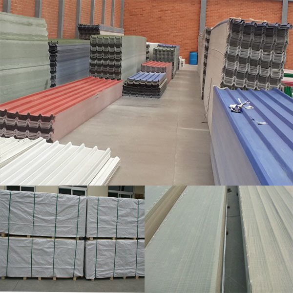 china hot sale plastic corrugated pvc roofing sheet in south