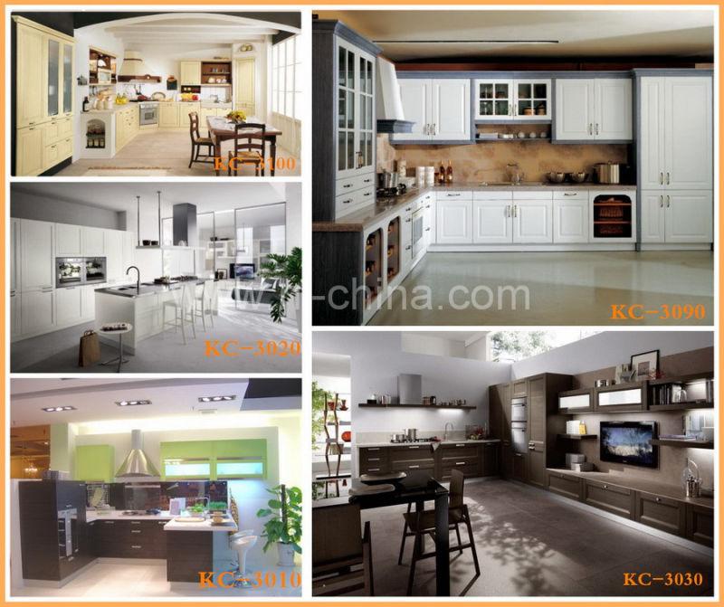 Good Quality Kitchen Cabinets: China Hizo Costo Barato PVC Gabinete De Cocina Con