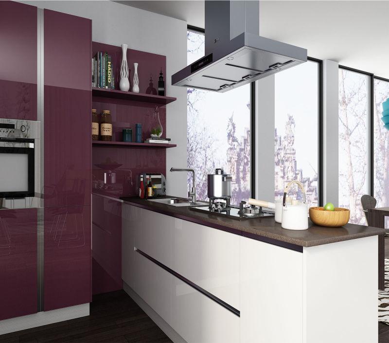 China 2016 cheap melamine kitchen cabinets china kitchen for Cheap kitchen cabinets from china