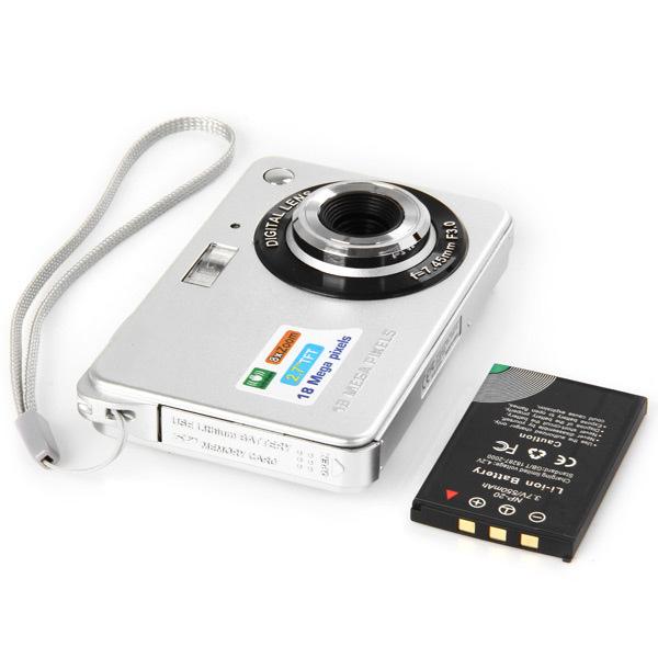 Ultra-Thin 720 HD 16 Mega Pixels Digital Selfie Pocket Camera