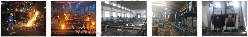 OEM Ductile Cast Iron Casting Valve Body with Casting Process