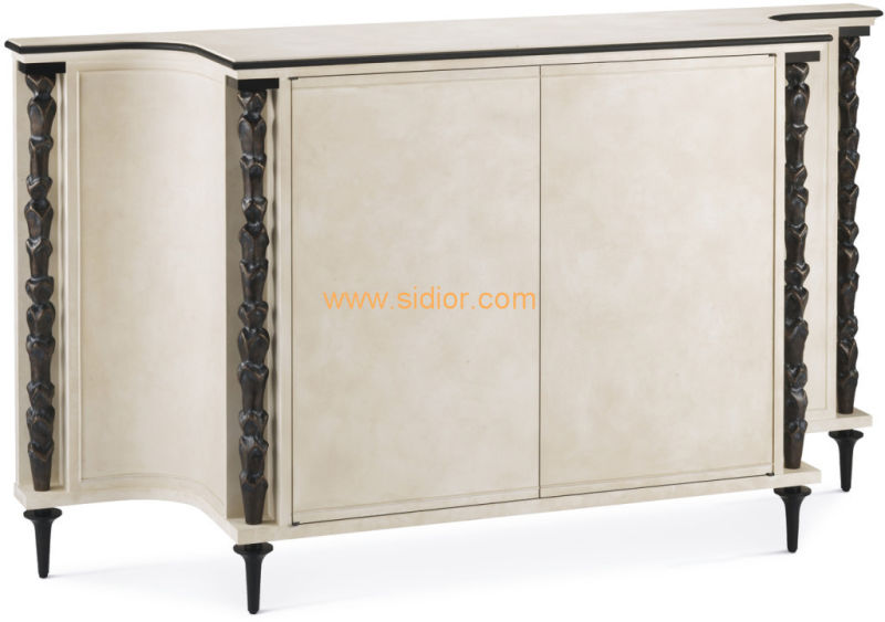 (CL-7715) Luxury Hotel Restaurant Villa Lobby Furniture Wooden Console Table