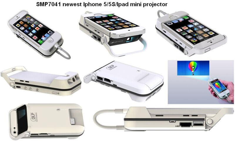 China newest hdmi standand device mini projector for for Mini projector for iphone and laptop