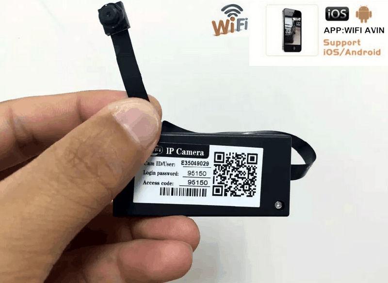QT-GW006 WiFi Module Camera Mini DVR HD Video Wireless IP
