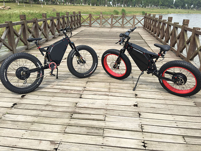 72V 5000W Fat Bike TFT Colorful Display Electric Fat Bike