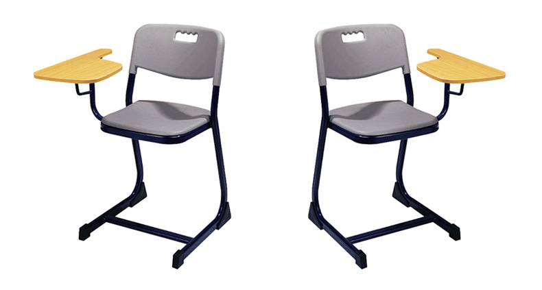 Metal Writing Tablet Chairs Of School Furniture