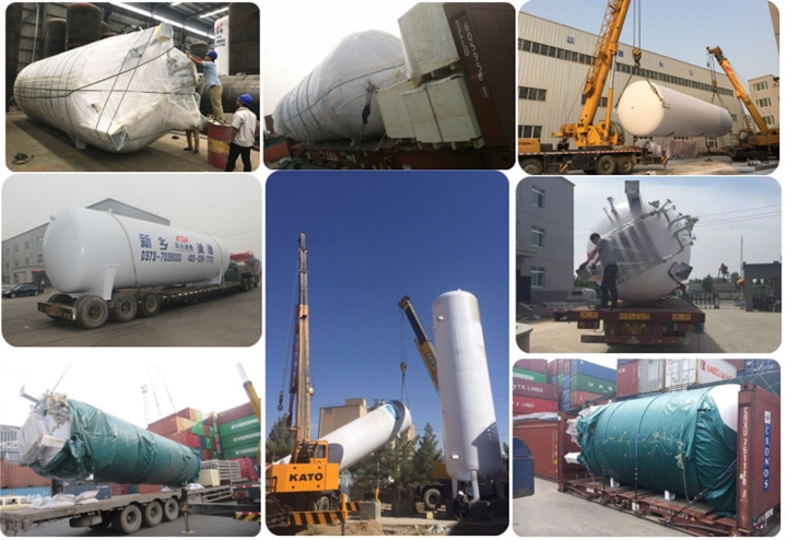 High Quality Cryogenic Liquid Oxygen Tank