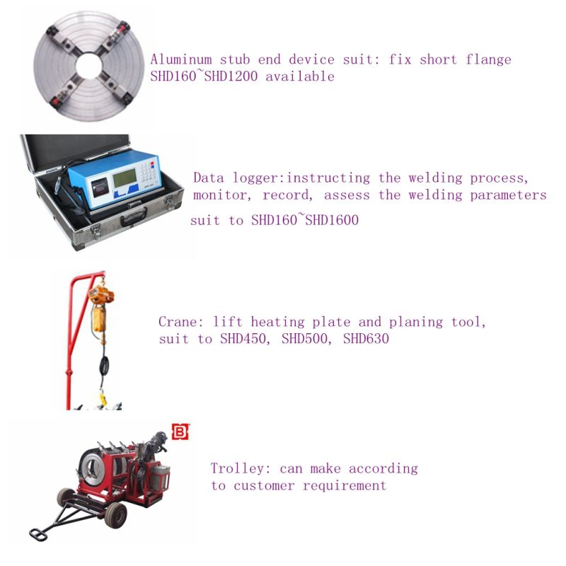 hdpe pipe fusion welding machine