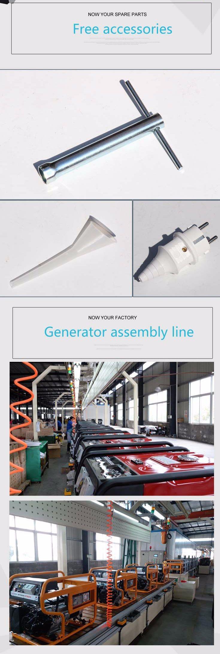 Single Phase 2kw Gasoline Petrol Generator with Senci 100% Copper Alternator